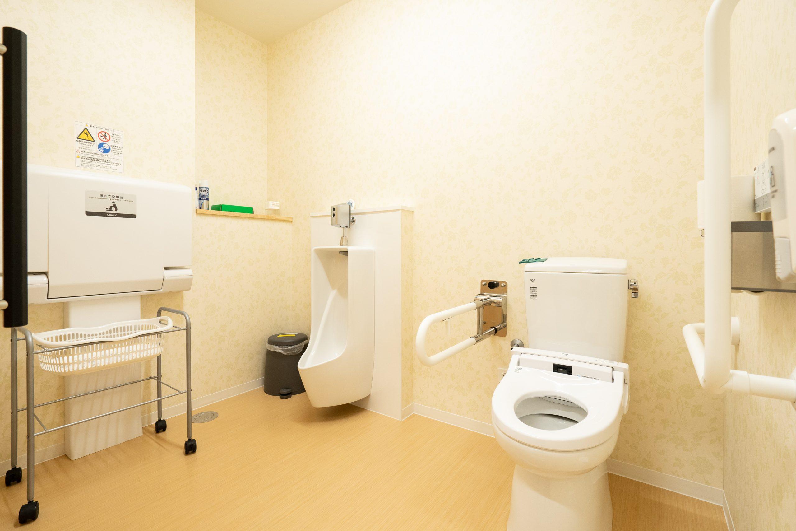 多目的トイレを完備|泉大沢ファミリークリニック