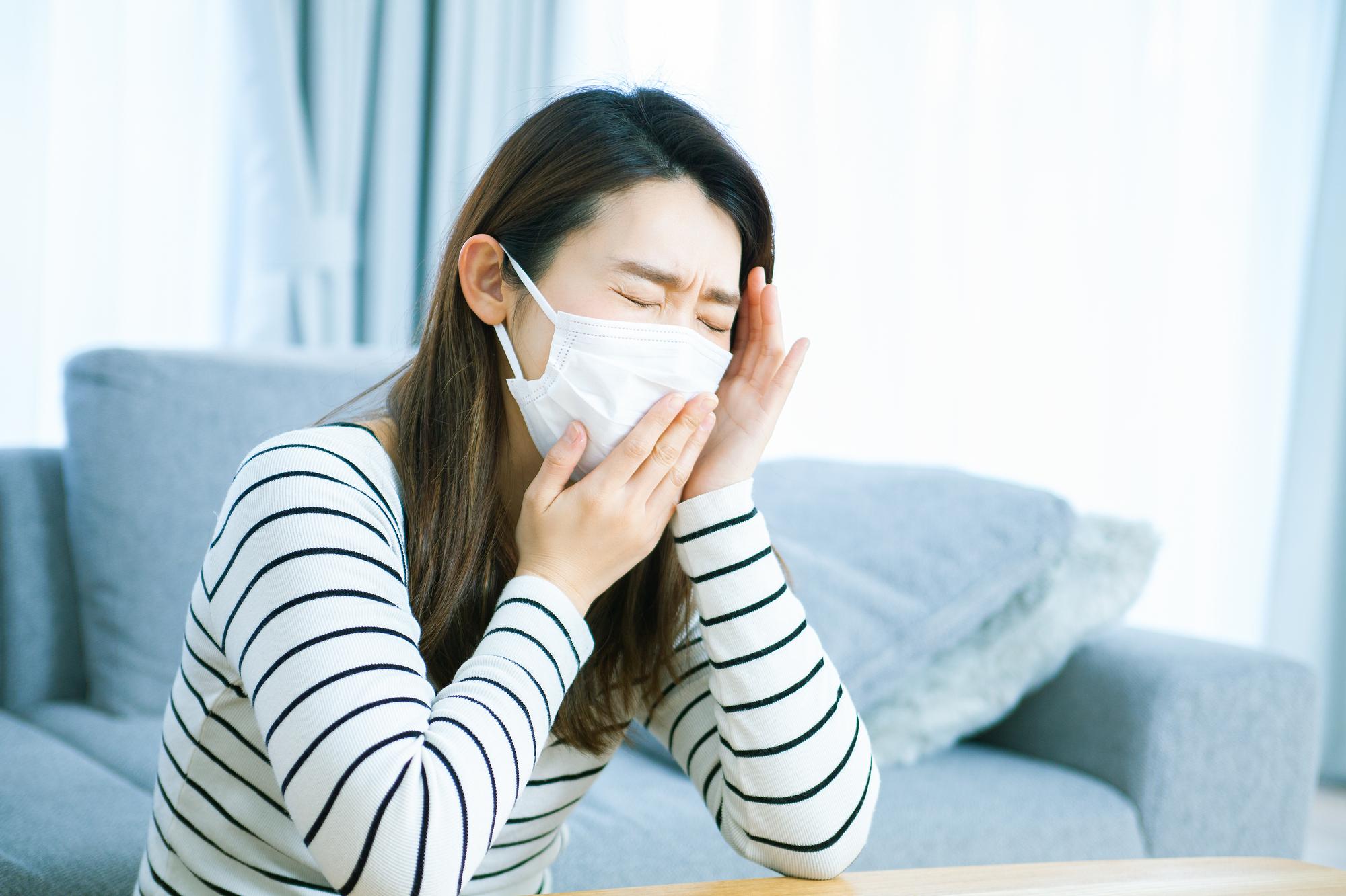 長引く咳の症状|仙台市泉区の泉大沢ファミリークリニック